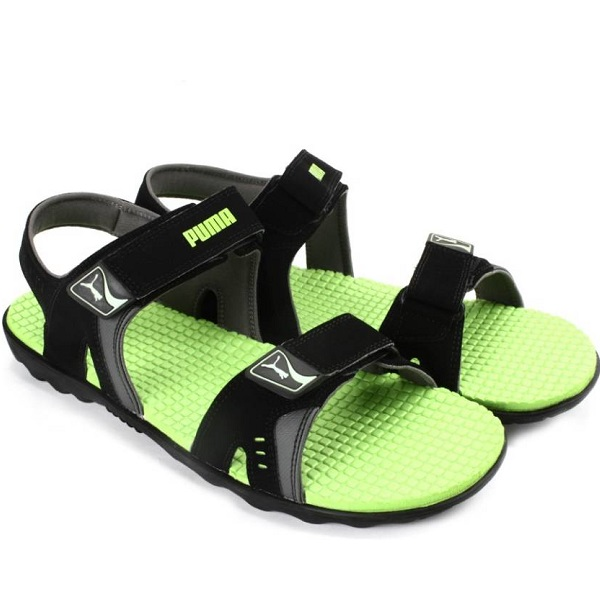 Puma Silicis Buck DP Men Black Sandals