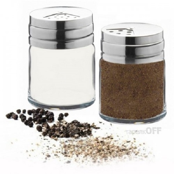 Pasabahce Salt And Pepper Condiment Set of 2