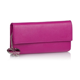 Butterflies Womens Wallet Pink