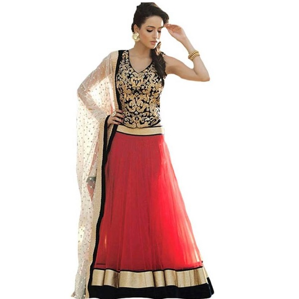 Hitesh Enterprise Embroidered Womens Ghagra Choli