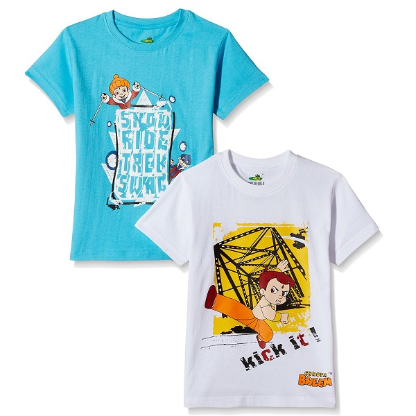 Chhota Bheem Boys TShirt Pack of 2