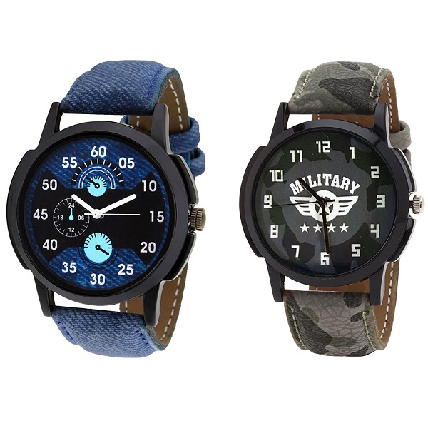 Relish Casual Analogue Multicolour Wrist Watch Combo