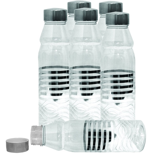 Princeware PET Fridge Bottle Set of 6