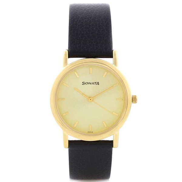 Sonata NH7987YL01CJ Analog Watch