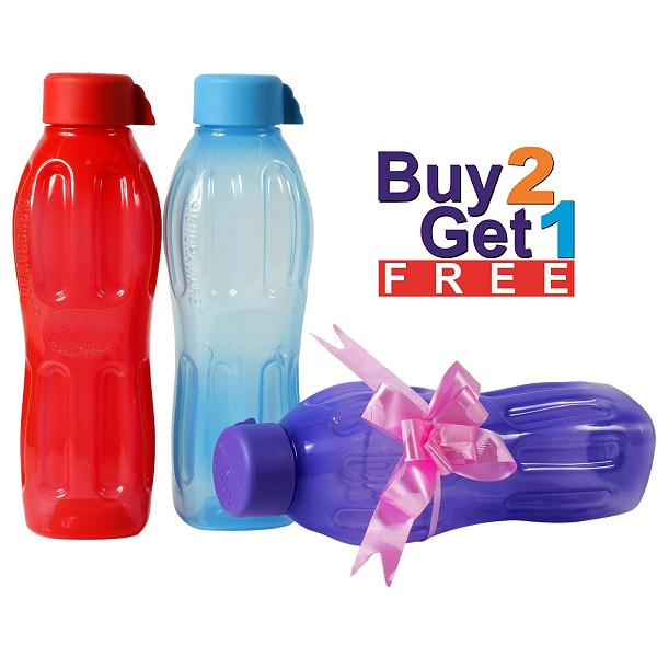 Signoraware Aqua Fresh Water Bottle Set