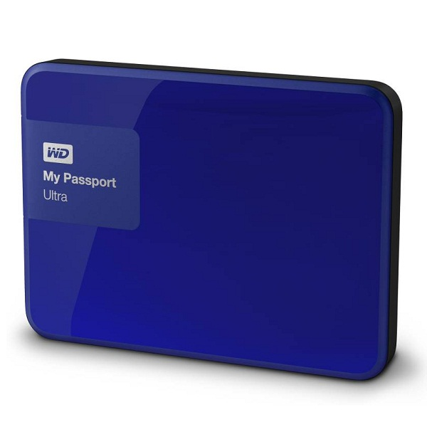 WD My Passport Ultra 1 TB Wired External Hard Disk Drive
