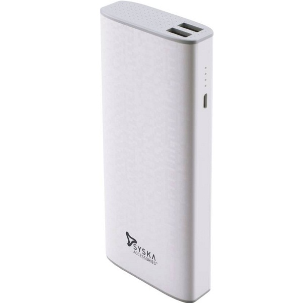 Syska Economy 100 Power Bank 10000 mAh