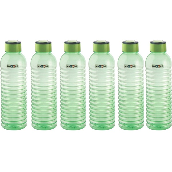 Nayasa Groove PET Fridge Bottle Set of 6