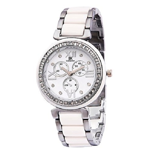 Iik Collection Analog White Dial Womens Watch