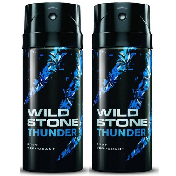 Wild Stone Thunder Deodorant Spray Combo Set of 2