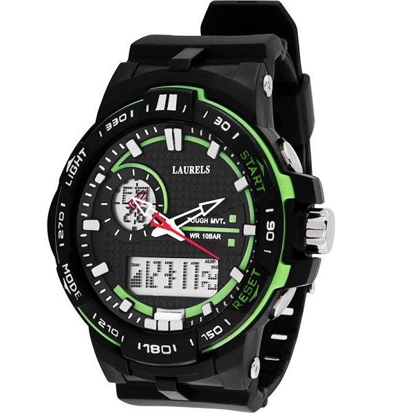 Laurels Lo Digi105 Analog Digital Watch For Men