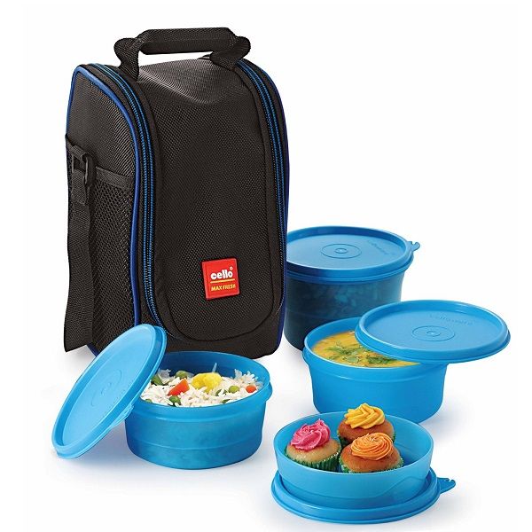 Cello Max Fresh Super Polypropylene Lunch Box Set