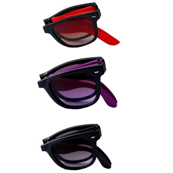 RST folding sunglasses set of 3 combo pack