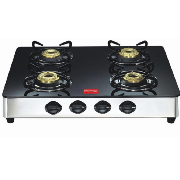 Prestige Marvel Glass Top Gas Table 4 Burner