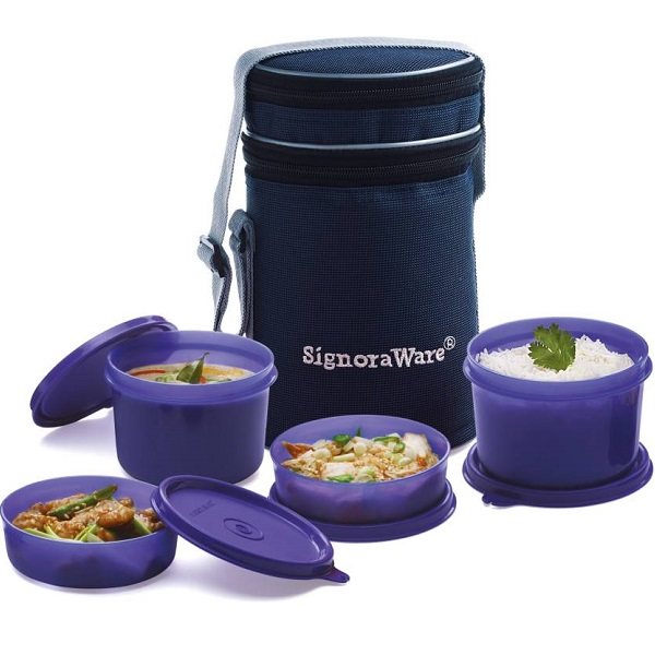 Signoraware Executive Lunch Box 4 Containers