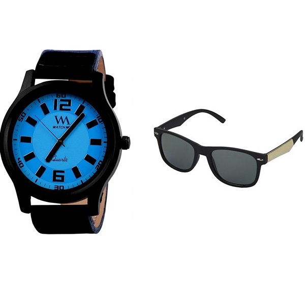 WATCH ME Combo Gift Set Of Watch And Sunglasses