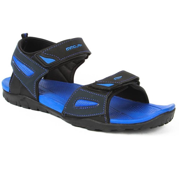 Mmojah Men Blue Black Sandals