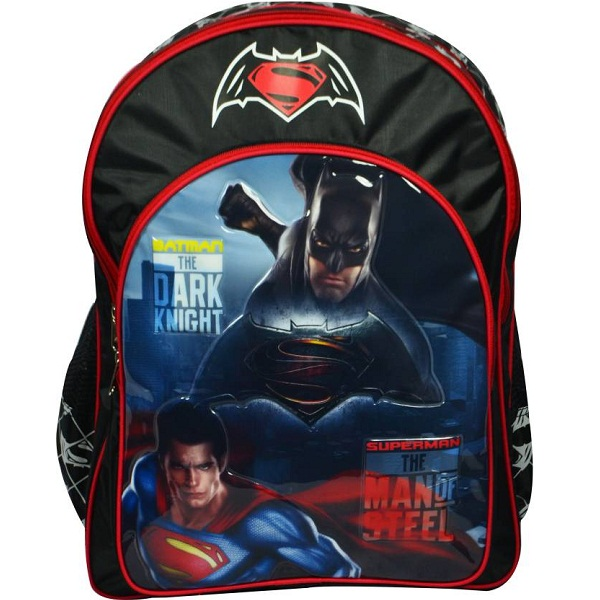 Batman vs Superman School Bag