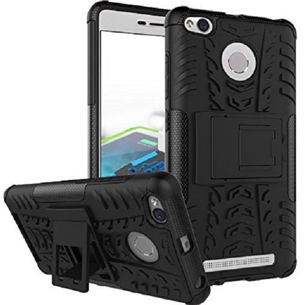 Chevron Hybrid Shock Proof Back Cover Case for Redmi 3S Prime