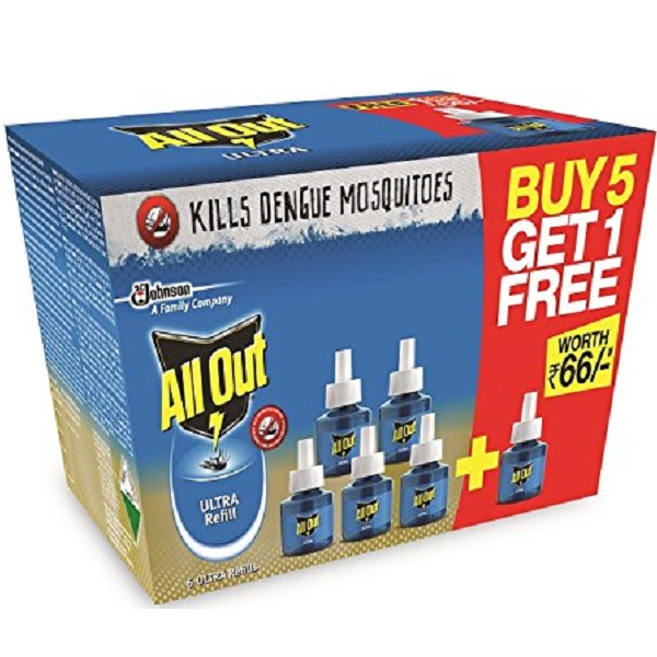 All Out Ultra Refill Saver Pack of 6
