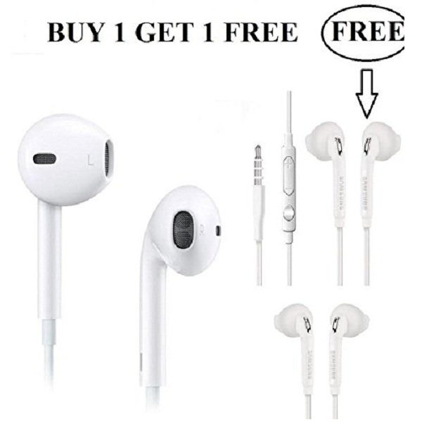 Cable Hunter Samsung Galaxy Earphones Buy 1 Get 1 Free