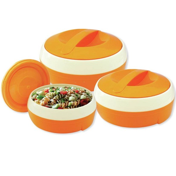 Princeware Solar Pack of 3 Casserole Set