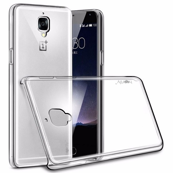 Heartly Crystal Clear Back Case Cover For OnePlus Mobiles