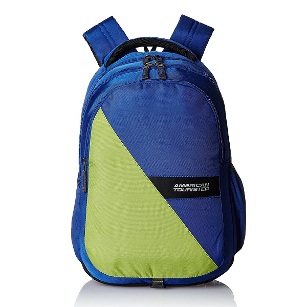 American Tourister Encarta Blue Casual Backpack