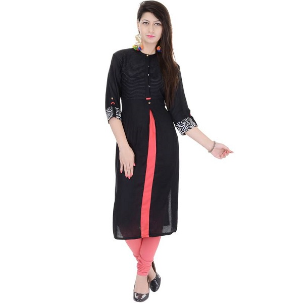 Style N Shades Casual Solid Womens Kurti