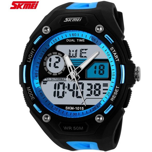 Skmei Dual Display Multifunction S Shock Analog Digital Watch