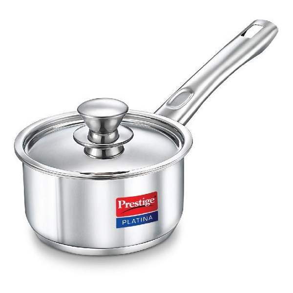 Prestige Platina Induction Base Stainless Steel Sauce Pan