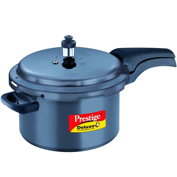 Prestige Deluxe Plus Hard Anodized Outer Lid Pressure Cooker