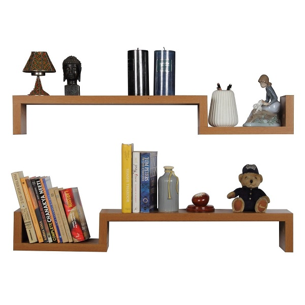 Forzza Cooper Set of 2 Wall Shelves
