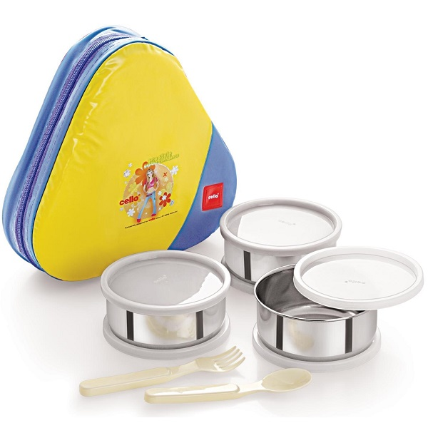 Cello Eat N Eat 3 Container Lunch Pack