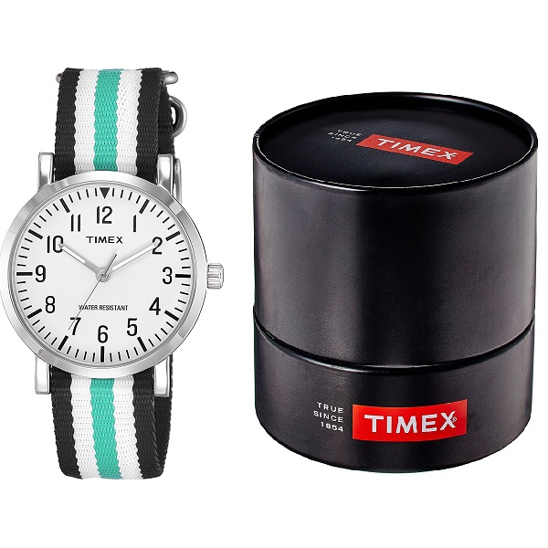 Timex Fashion Analog White Dial Unisex Watch