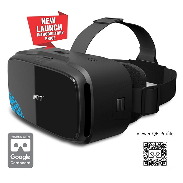 MTTr 3D VR Headset Glass Advanced Virtual Reality Glasses