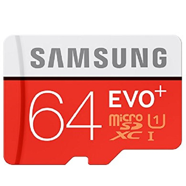 Samsung Evo Plus 64GB Class 10 microSDXC Card with SD Adapter
