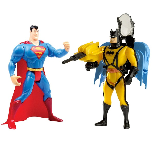 Funskool Batman Rocket Pack and Superman Quick Change Combo