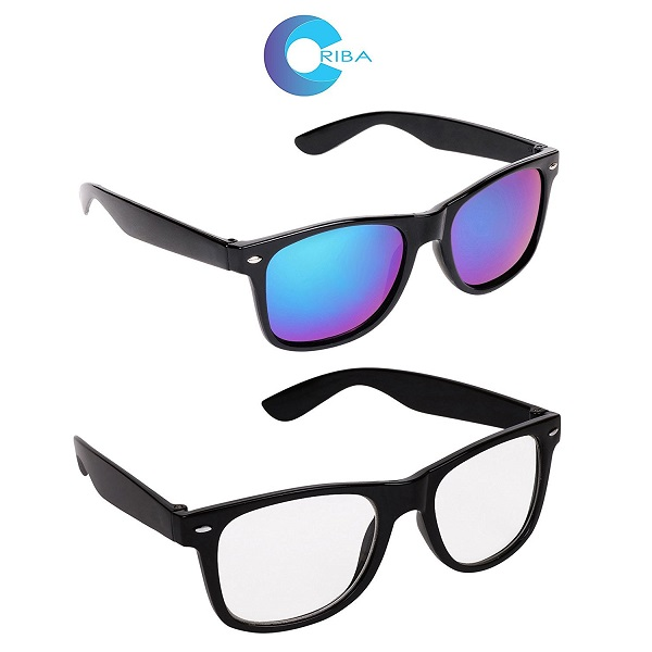 Criba Pack of 2 Wayfarer Sunglass