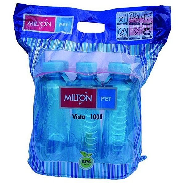 Milton pet VISTA bottle Pack of 6 1000ml