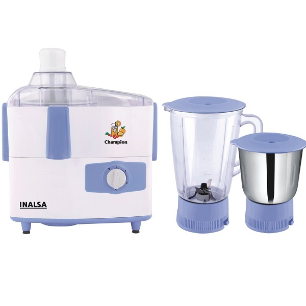 Inalsa Champion 450 Watt Juicer Mixer Grinder