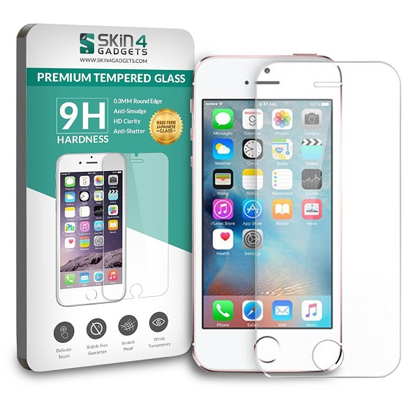 Apple iPhone SE Tempered Glass Screen Guard Protector