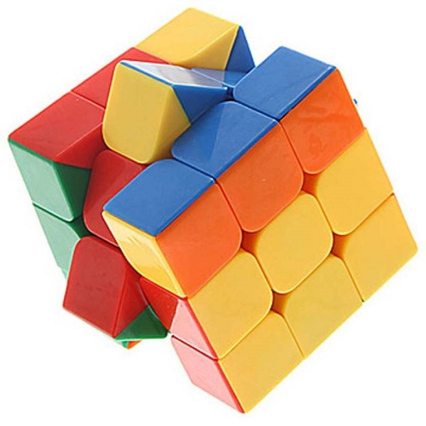 Montez Stickerless Magic Rubik Cube High Speed