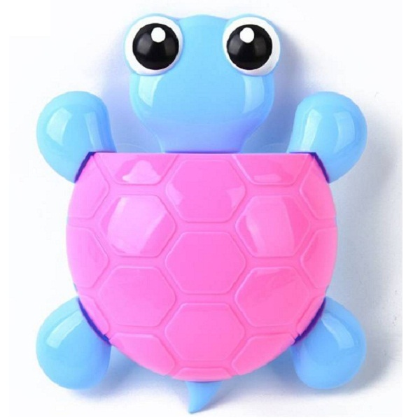GeekGoodies Tortoise Plastic Toothbrush Holder