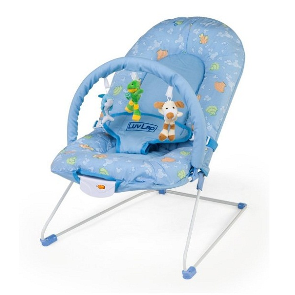 LuvLap Baby Bouncer Sunshine Blue