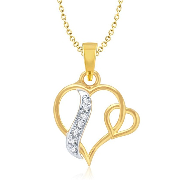 VK Jewels Yellow Gold Alloy Pendant