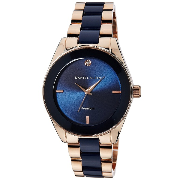 Daniel Klein Analog Blue Dial Womens Watch
