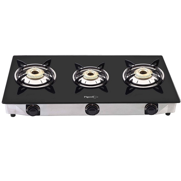Pigeon favourite 3 burner Black Line Cook Top stove
