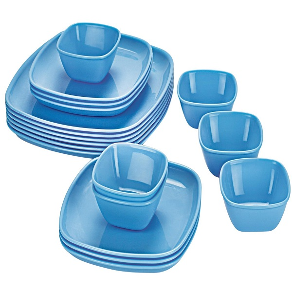 Cello Ware Square Set 18Pieces