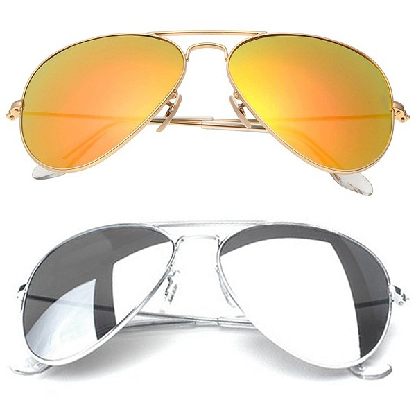 Younky Aviator Sunglasses Combo